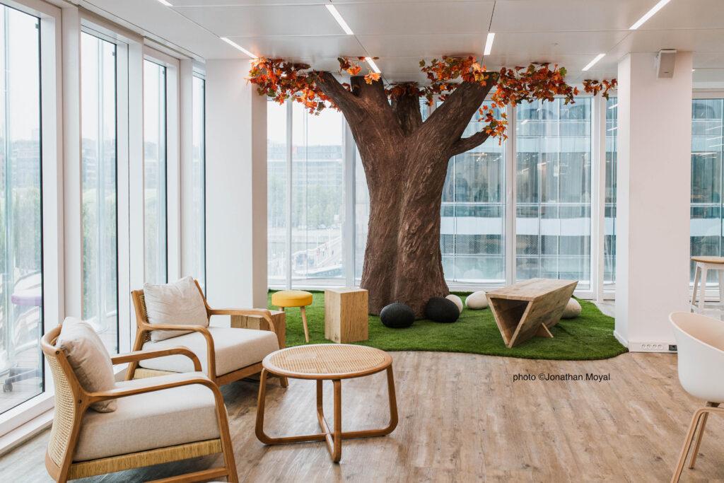 faux arbre Paris Corentin Meige déco décorateur suisse vaud lausanne