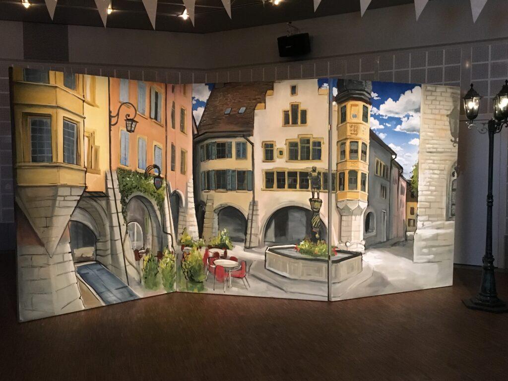 déco événementielle event fresque peinture berne basel corentin meige