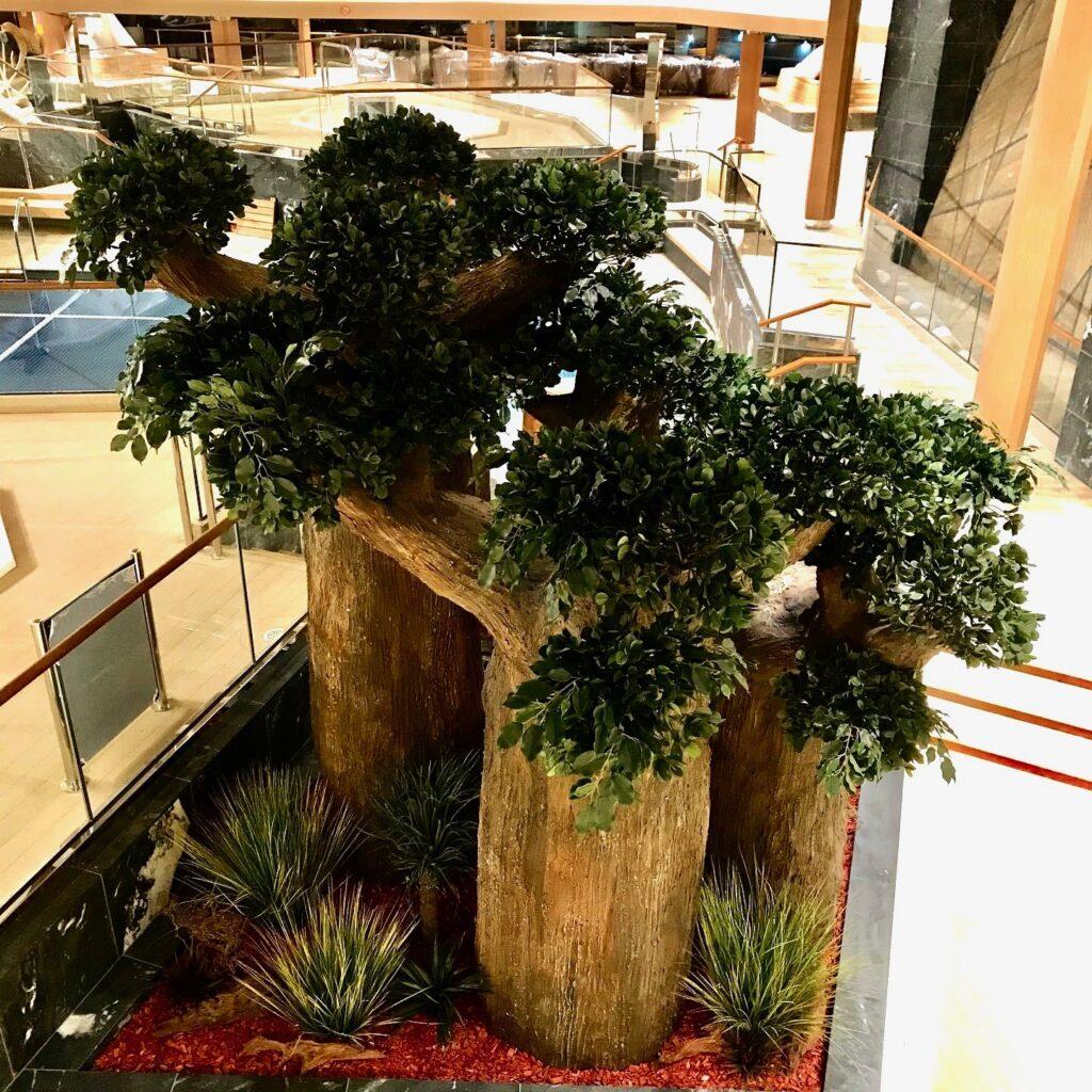 faux arbre baobab MSC grandiosa vegetaltrend Corentin Meige