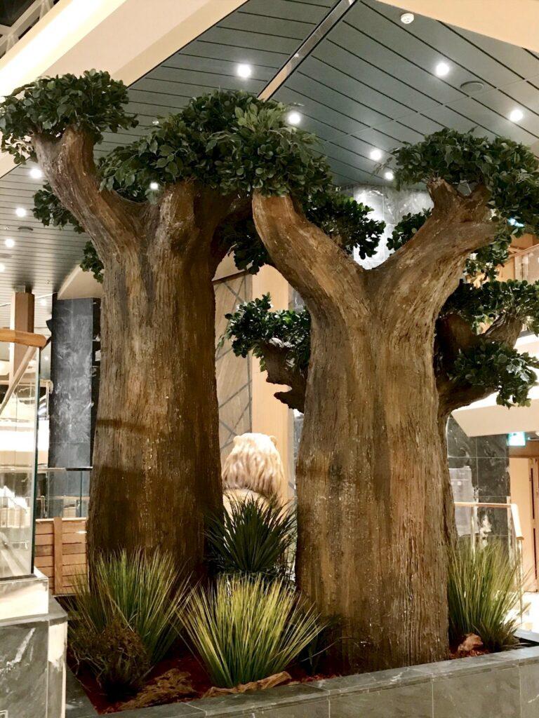 faux arbres baobab MSC grandiosa vegetaltrend Corentin Meige