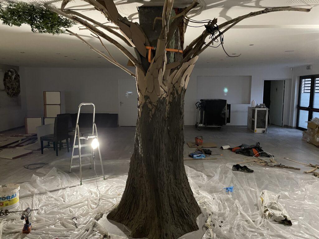 arbre création décorateur corentin meige france suisse lausanne paris déco végétale plante arbres décor