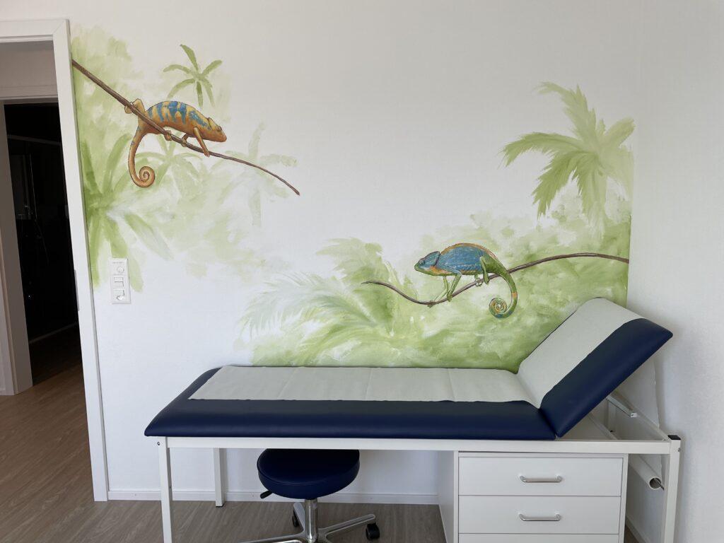 fresque corentin meige enfant déco décor pédiatre pédiatrie cabinet artiste peinture suisse fribourg vaud sugiez fresques peinture murale
