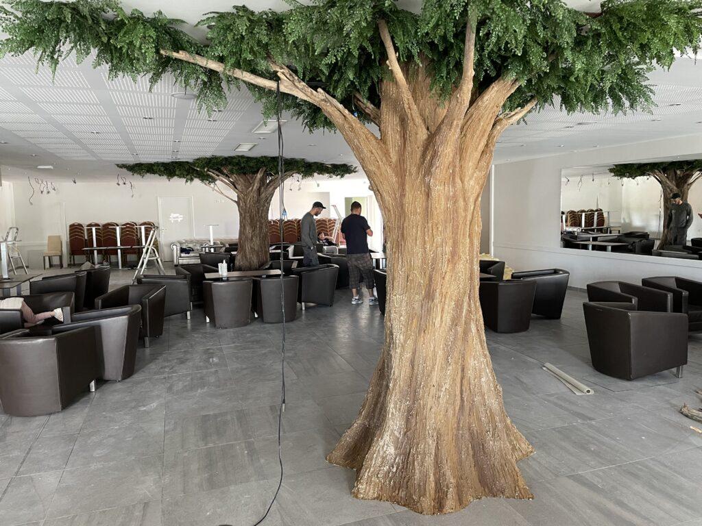 faux arbre création décorateur corentin meige france suisse lausanne paris déco végétale plante arbres décor